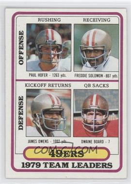 1980 Topps - [Base] #526 - San Francisco 49ers Team