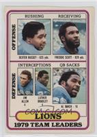 Detroit Lions (Dexter Bussey, Freddie Scott, Jim Allen, Luther Bradley, Al Bake…