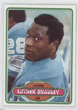 1980 Topps #103 - Luther Bradley