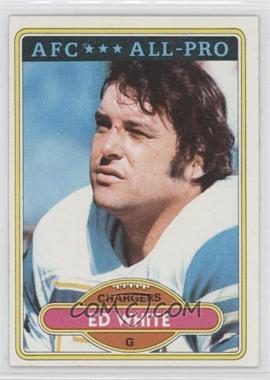 1980 Topps #190 - Ed White