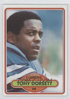1980 Topps #330 - Tony Dorsett