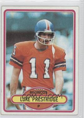 1980 Topps #427 - Luke Prestridge