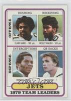 Clark Gaines, Wesley Walker, Burgess Owens, Joe Klecko