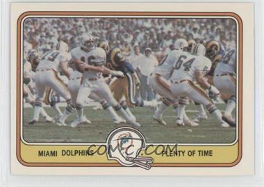 1981 Fleer Teams in Action #27 - Miami Dolphins Team
