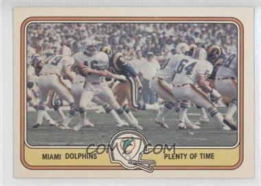 1981 Fleer Teams in Action #27 - Miami Dolphins Team
