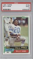 Billy Sims [PSA9]