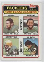 James Lofton, Johnnie Gray, Mike Butler
