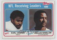 Earl Cooper, Kellen Winslow [Good to VG‑EX]