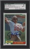 Joe Montana [SGC AUTHENTIC AUTO]