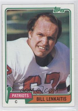 1981 Topps #268 - Bill Lenkaitis