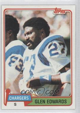 1981 Topps #418 - Glen Edwards
