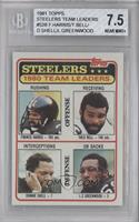 Pittsburgh Steelers Team Leaders [BGS7.5]
