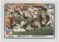 Miami Dolphins Team, Washington Redskins Team
