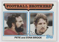 Football Brothers - Pete and Stan Brock