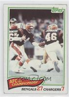 AFC 81 Championship Bengals Chargers