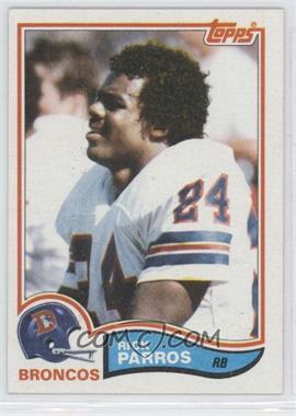 1982 Topps - [Base] #84 - Rick Parros