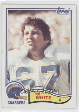 1982 Topps #239 - Ed White