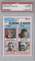 Nick Lowery, Rafael Septien, Jim Breech, Ed Murray [PSA 10]