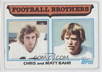 Football Brothers - Chris and Matt Bahr [Good to VG‑EX]