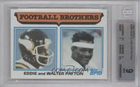 Football Brothers - Eddie and Walter Payton [BGS 9]