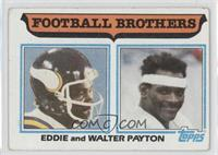 Football Brothers - Eddie and Walter Payton [Good to VG‑EX]