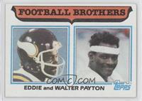 Football Brothers - Eddie and Walter Payton