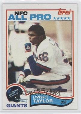 1982 Topps #434 - Lawrence Taylor