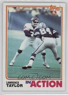 1982 Topps #435 - Lawrence Taylor