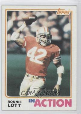 1982 Topps #487 - Ronnie Lott