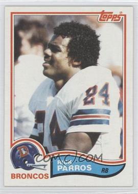 1982 Topps #84 - Rick Parros