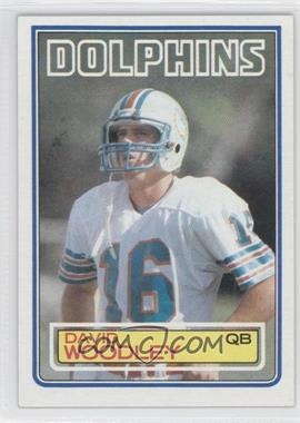 1983 Topps - [Base] #323 - David Woodley