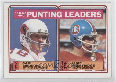 1983 Topps #207 - Carl Birdsong, Luke Prestridge