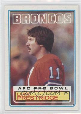 1983 Topps #267 - Luke Prestridge