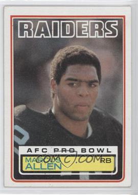 1983 Topps #294 - Marcus Allen