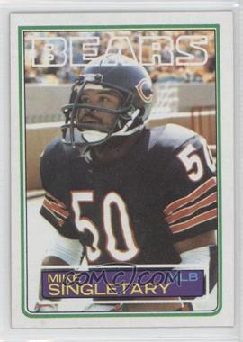 1983 Topps #38 - Mike Singletary