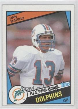 1984 Topps - [Base] #123 - Dan Marino