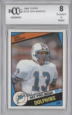 1984 Topps - [Base] #123 - Dan Marino [ENCASED]