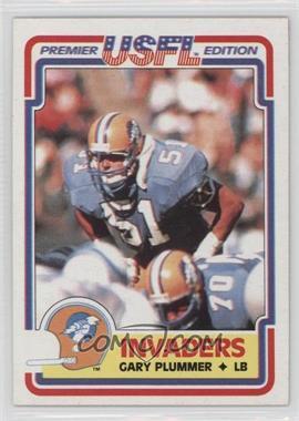1984 Topps USFL - [Base] #88 - Gary Plummer