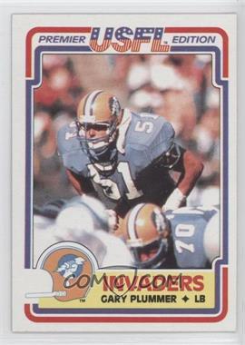 1984 Topps USFL #88 - Gary Plummer