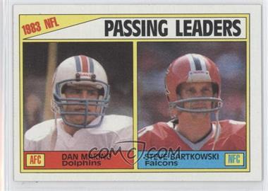 1984 Topps #202 - Passing Leaders (Dan Marino, Steve Bartkowski)