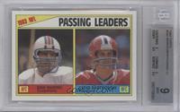 Passing Leaders (Dan Marino, Steve Bartkowski) [BGS9]