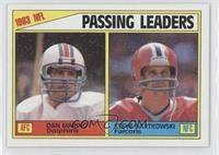 Passing Leaders (Dan Marino, Steve Bartkowski)