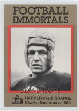 1985-88 Football Immortals #42 - Red Grange