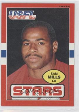 1985 Topps USFL #19 - Sam Mills