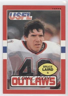 1985 Topps USFL #3 - Bruce Laird