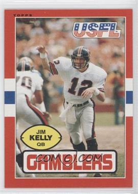 1985 Topps USFL #45 - Jim Kelly