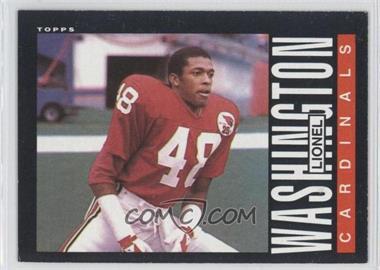 1985 Topps #147 - Lionel Washington