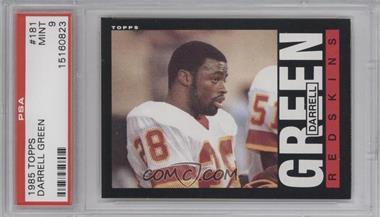1985 Topps #181 - Darrell Green [PSA9]