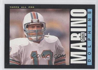 1985 Topps #314 - Dan Marino