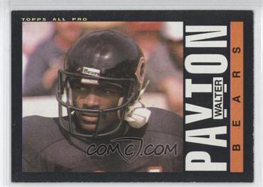 1985 Topps #33 - Walter Payton